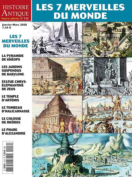 Les 7 merveilles du monde histoire antique hors s rie n 16 for Le jardin des merveilles streaming