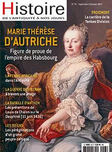 Histoire de l'Antiquité à nos jours  n° 93 - Septembre/Octobre 2017
